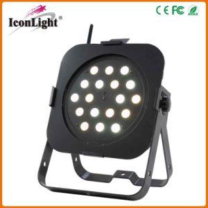 Batería 18*3W Slim LED de luz PAR Plana (icono-A034)