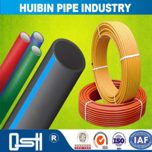 La norme ISO4427/ASTM/NZS4130 PEHD ou PE 100 tuyau d'alimentation en eau en plastique souple