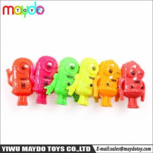 Het in het groot Nieuwe Kleine Plastic Speelgoed van de Giften van het Suikergoed van de Jonge geitjes van de Rammelaar van Minions van het Stuk speelgoed
