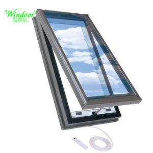 Verre Teinté De Couleur Marron Lucarne En Aluminium Pour Fenêtre De