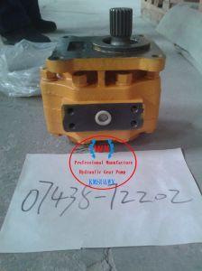 Heißer Verkauf in Übertragungs-Pumpe 07438-72202 der Russland-Planierraupen-D355A-3