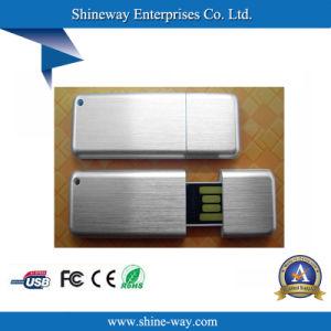 Алюминий USB Memory Stick™ с помощью индивидуального логотипа в подарок для продвижения