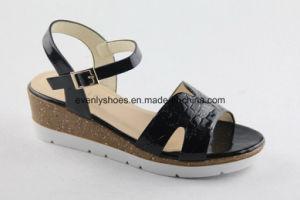 Nouveau style de Lady Fashion sandale avec la conception de plate-forme