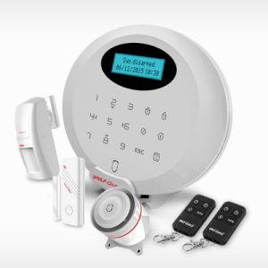 Nuovo APP sistema di allarme di obbligazione domestica di GSM di sostegno della macchina fotografica del IP di automazione domestica di controllo di 2016
