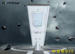 La luz del sensor de movimiento infrarrojos todo-en-uno de las luces de calle Solar LED