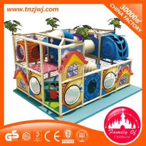 El Equipo de Parque de Atracciones interior laberinto Playground diapositiva