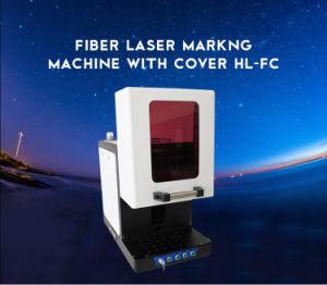 가득 차있 닫히는 소형 고품질 CNC Laser 조각 표하기 기계