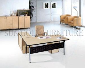 Ordinateur portable moderne bureau de bureau table de bureau en
