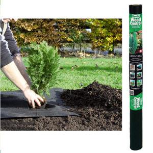 Tessuto della barriera dell'erba cervina di controllo di Weed del tessuto di paesaggio di Spunbonded