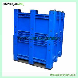 La industria de almacén contenedor de transporte de palets de plástico