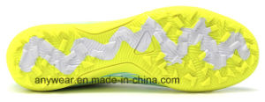Nuevo diseño de botas zapatos de fútbol de césped (133T)