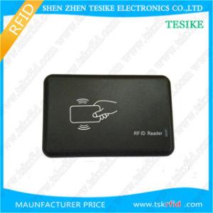 Leitor de RFID de desktop 125kHz, Leitor de cartão de proximidade com interface USB