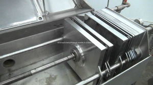 200 van Multi-Layer van het Roestvrij staal van de Plaat van het Bier mm Pers van de Filter
