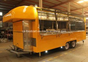 Heiße verkaufende mobile Karre des Schnellimbiss-Tc-Ca04