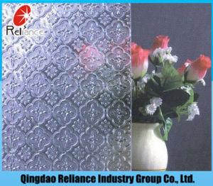 3mm/3.5mm/4mm/5mm/6mm ontruimt het Duidelijke Glas van het Patroon/het Duidelijke Glas van het Cijfer/het Gerolde Glas van het Patroon van /Flora van het Glas/van het Glas van het Patroon Nashiji/van het Glas van het Patroon Karatachi