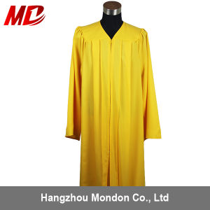 Großhandelsmattgoldabitur-Schutzkappen-Kleid-Troddel
