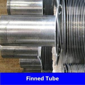 A179&una espiral de tubo de aletas de aluminio1060