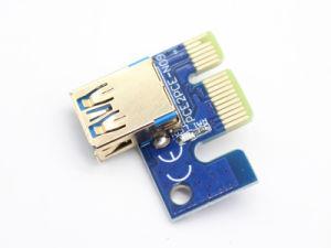 colonne montanti di 009s PCI-E 1X-16X con l'indicatore luminoso del LED