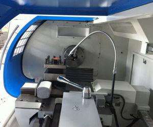 Grande macchina orizzontale del tornio del banco del metallo di CNC (CK6150A)