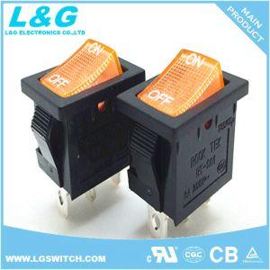 19*13mm 2 Posição do Interruptor basculante 16A250V CA