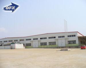 La estructura de acero de la construcción de Galpón prefabricado/Garaje/granero
