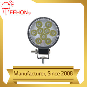 Faros redondos 27W FOCO LED luces de trabajo 12V 24V