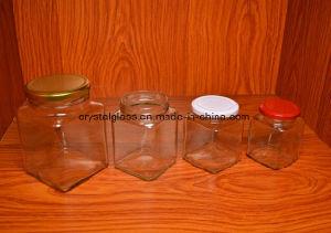 Glashonig-Marmeladen-Glas für Verkauf
