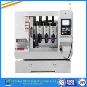 Alta velocidade de alta precisão de 4 Cabeças máquina de corte CNC para bracelete e Anel