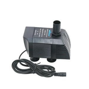 De Stroom 1500L/H van gelijkstroom 24V heft 1.5m onophoudelijk de Elektromagnetische LandbouwPompen van het Aquarium van het Water op