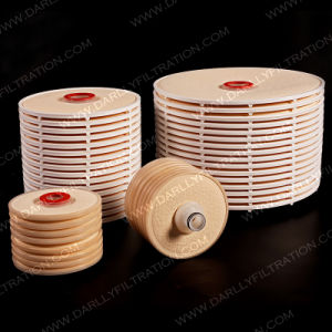 Un filtro lenticolare dalle 12 cellule di pollice 16 per filtrazione del vino