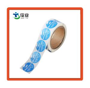 Custom круглая форма Самоклеющиеся наклейки