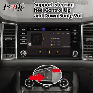 Android 6.0 de la interfaz de video de navegación para Volkswagen Skoda 8'' pulgadas de pantalla 2014-2018 Waze