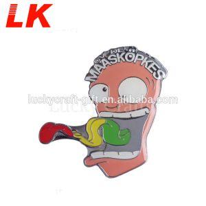 Pin del risvolto del metallo di alta qualità con l'ago di sicurezza
