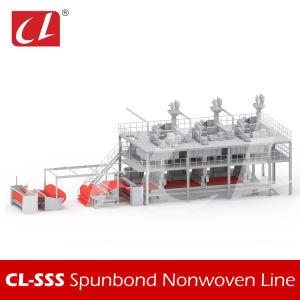 機械を作るCL-SSS PP Spunbondの非編まれたファブリック