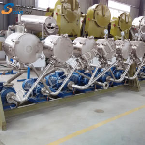 Machines de transformation du manioc automatique concurrentiel pour l'amidon de décisions