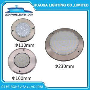 Толщина 8 мм на поверхности полимера заполнены LED Бассейн подводного освещения