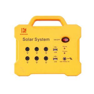 18V 10W multi Funktion Portbale SolarStromnetz mit FM MP3 für im Freien/Reisen/wandernd