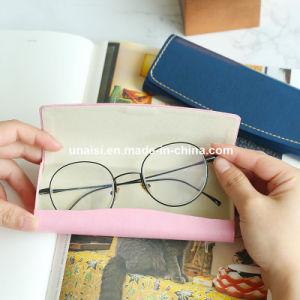 Gafas de disco duro de cuero de PU Vitrina para gafas de sol Gafas