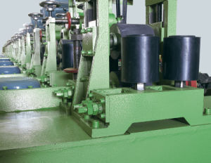알루미늄 스테인리스 금속 사각 관 닦는 기계장치