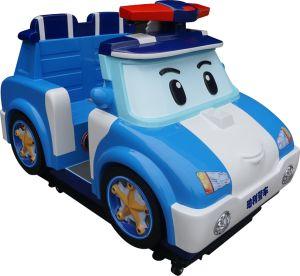 屋内ゲームの子供の乗車のPoli車のゲーム・マシン