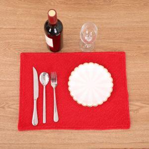 De Decoratie van het Huis van Kerstmis van de Nieuwe Modieuze Rode Mat van de Lijst