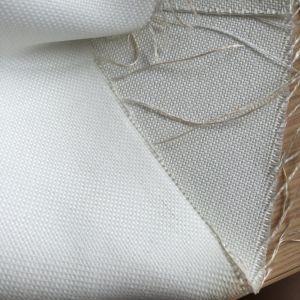 Il tessuto filtrante tessuto ricoperto silicone della fibra di vetro per metallo pianta il sacchetto filtro
