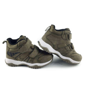 Детей Greatshoe походную обувь середины Нескользкие Детский Водонепроницаемый для использования вне помещений для походов обувь Quick-Drying обувь