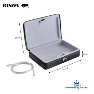 (WA211) de l'acier Case Verrouillage à 3 chiffres de la sécurité combinaison sûre de l'argent Case case clé case portable personnel de caisse