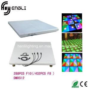 El color de LED pago pista de baile para la etapa (HL-00S)
