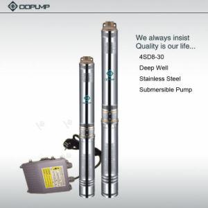 pompe profonde d'eau de puits de la pompe 4SD8/30 submersible