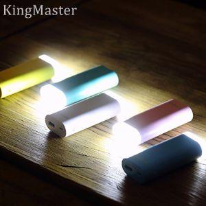 Batería portable de la potencia de rey Master 5200mAh con la luz del LED