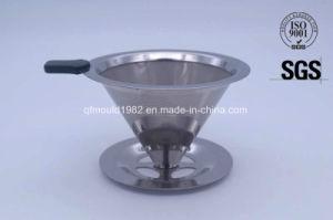 Filtro de café com filtro de cone de aço inoxidável