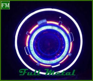 HID 7'', Ángel RGB de los ojos de cielo estrellado colorea el faro delantero