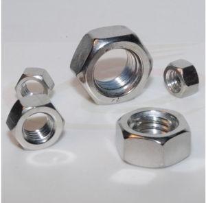 La norme ISO4032 d'écrous hexagonaux en acier au carbone